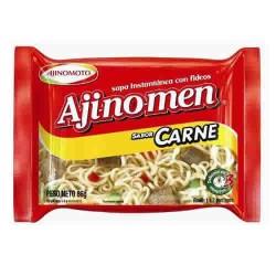 AJINOMEN - MEAT NOODLE SOUP  X  85 GR