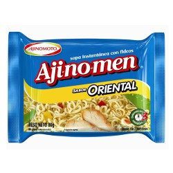 AJINOMEN - ORIENTAL CHICKEN NOODLE SOUP  X 85 GR