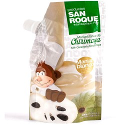 SAN ROQUE - PERUVIAN CUSTARD APPLE ( CHIRIMOYA ) BLANCMANGE - DOYPACK X 200 GR