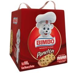 BIMBO PANETON  - PERUVIAN FRUITCAKE BOX OF 900 GR