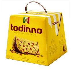 TODINO - PANETON  PERUVIAN FRUITCAKE BOX OF 900 GR