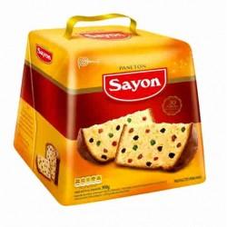 SAYON PANETON  - PERUVIAN FRUITCAKE BOX OF 900 GR