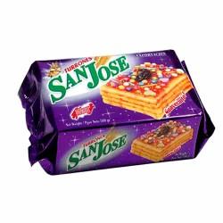 SAN JOSE - PERUVIAN DESSERT NOUGAT TURRON DOÑA PEPA , BOX OF 500 GR
