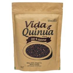 VIDA & QUINUA - BLACK QUINOA SEEDS 100% NATURAL VIDANDINA , DOYPACK X 454 GR