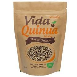 VIDA & QUINUA - TRICOLOR QUINOA SEEDS 100% NATURAL VIDANDINA , DOYPACK X 454 GR