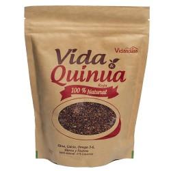 VIDA & QUINUA - RED QUINOA SEEDS 100% NATURAL VIDANDINA , DOYPACK X 454 GR